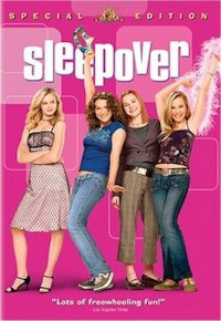 sleepover dvd cover