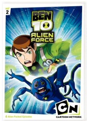 Ben 10 Alien Force, Vol. 2 DVD cover art