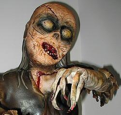 Zombie Cake by Courtneyscakes