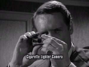 danger man cigarette lighter camera