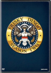 Frisky Dingo Season Two DVD cover art