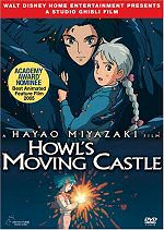 Howl's Moving Castle DVD cover art