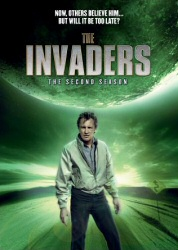 The Invaders: The Second Season DVD cover art