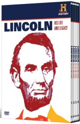 Lincoln: His Life and Legacy DVD cover art