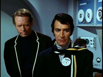 Patrick McGoohan as Number Six from The Prisoner