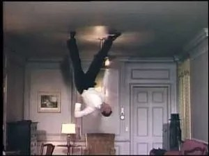 Fred Astaire dancing on the ceiling from Royal Wedding