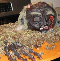 Zombie Cake from They're Coming