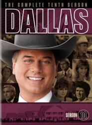 Dallas: The Complete Tenth Season DVD cover art