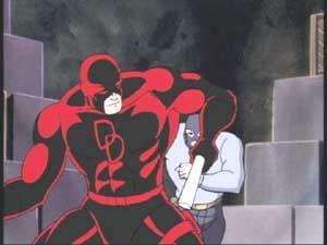 Daredevil from Daredevil vs. Spider-Man
