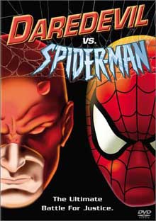 Daredevil vs. Spider-Man DVD cover art