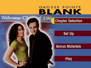 Grosse Pointe Blank DVD menu