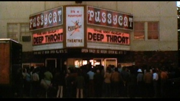 insdie deep throat movie theater marquee