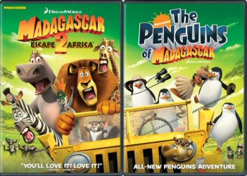 Madagascar: Escape 2 Africa DVD 2-Pack cover art