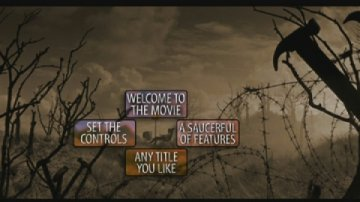 Pink Floyd: The Wall DVD menu