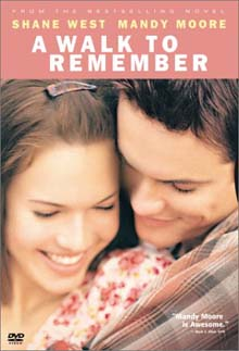 A Walk to Remember DVD cover art