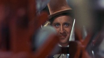 Gene Wilder is Willy Wonka