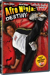 Afro Ninja: Destiny DVD cover art
