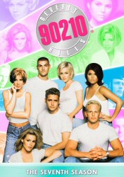Beverly Hills 90210: The Seventh Season DVD cover art