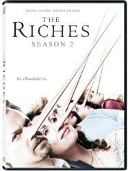 The Riches: Season 2 DVD cover art