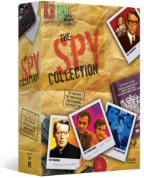 Spy Collection Megaset DVD cover art