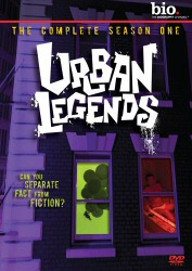 Urban Legends: The Complete Season One DVD cover art