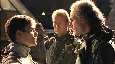 Alec Newman and William Hurt from Dune