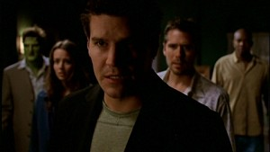 The cast from Angel Season 4