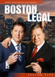 Boston Legal: Season Five DVD cover art
