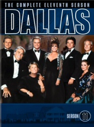 Dallas: The Complete Eleventh Season DVD cover art