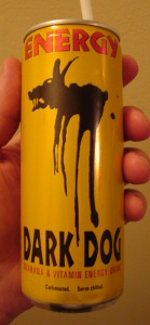 Dark Dog Energy Drink in a can!