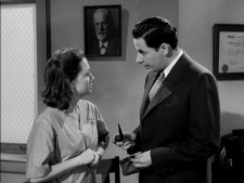 Olivia de Havilland and Leo Genn from The Snake Pit