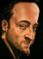 Derren Brown self-portrait