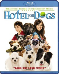 Hotel for Dogs Blu-Ray cover art
