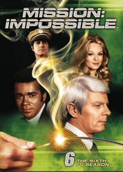 Mission: Impossible: The Sixth TV Season DVD cover art