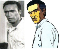 Ben from Night of the Living Dead, animated