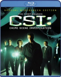 CSI: The First Season Blu-Ray cover art