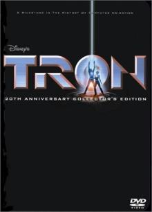 Tron DVD cover art