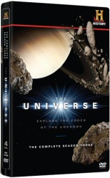 The Universe: The Complete Season Three DVD cover art
