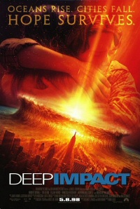 Deep Impact movie poster