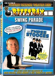 Rifftrax: Swing Parade DVD cover art
