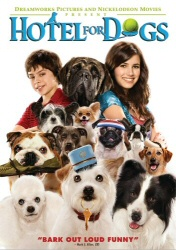 Hotel for Dogs DVD cover art