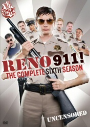 Reno 911: The Complete Sixth Season DVD cover art