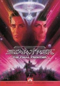 star trek v final frontier dvd cover