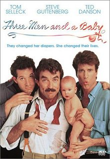 Three Men and a Baby DVD cover art