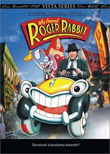 Who Framed Roger Rabbit DVD cover art