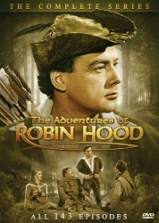 The Adventures of Robin Hood: The Complete Series DVD cover art
