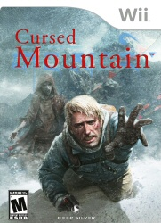 Cursed Mountain Wii game cover art