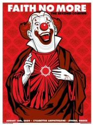 Faith No More clown poster