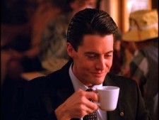 Kyle MacLachlan as Dale Cooper in Twin Peaks