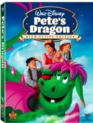Pete's Dragon DVD cover art
